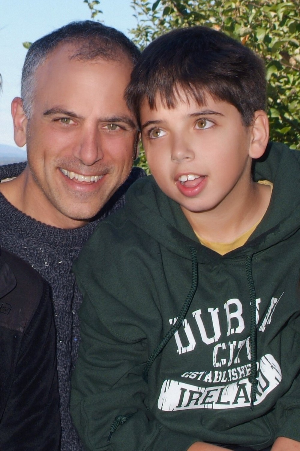 Dan Habib and his son Samuel