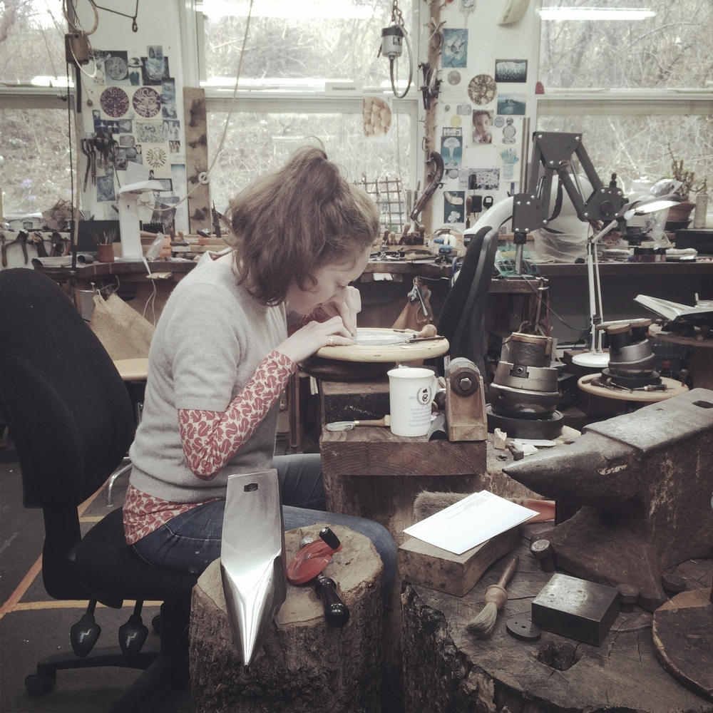 Malcolm Appleby's workshop (engraving masterclass)