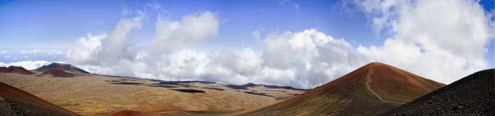 Cinder cone - summit of Mauna Kea
