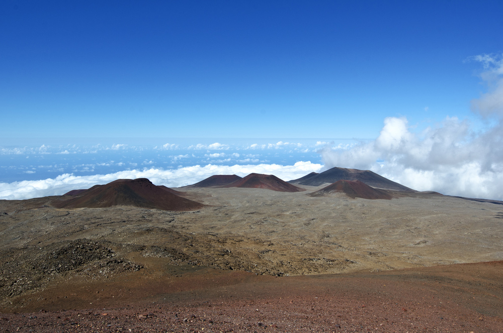 View from Mauna Kea Access Road