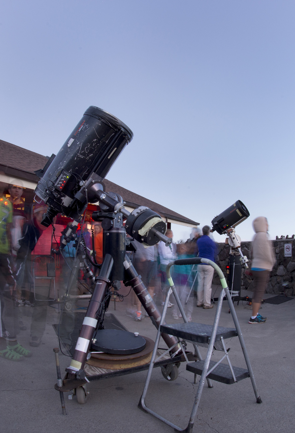 Stargazing program at Onizuka Visitor Center