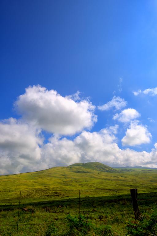 Blue skies above North Kohala