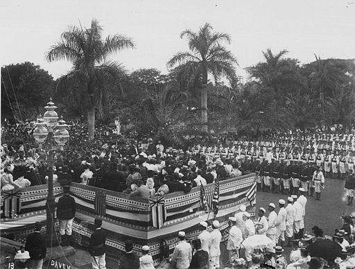 Annexation of Hawaii By Frank Davey (Hawaii State Archives. Call Number: PP-35-8-012)