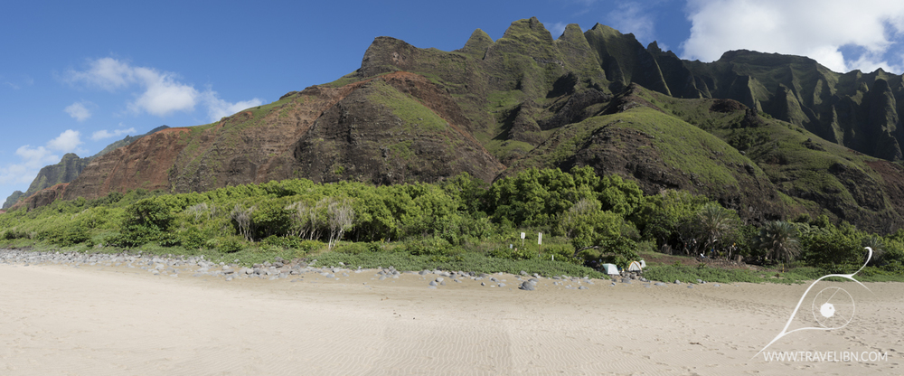 Kalalau Beach Panorama