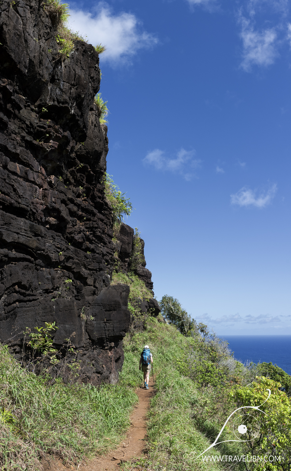 Rock Formations on Kalalau Trail