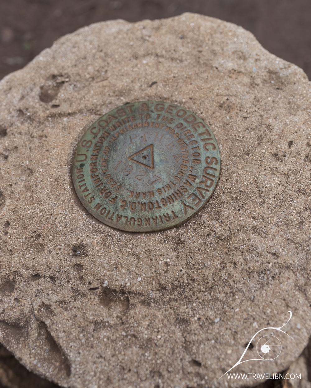 1927 US Coast &Geodetic Survey Benchmark