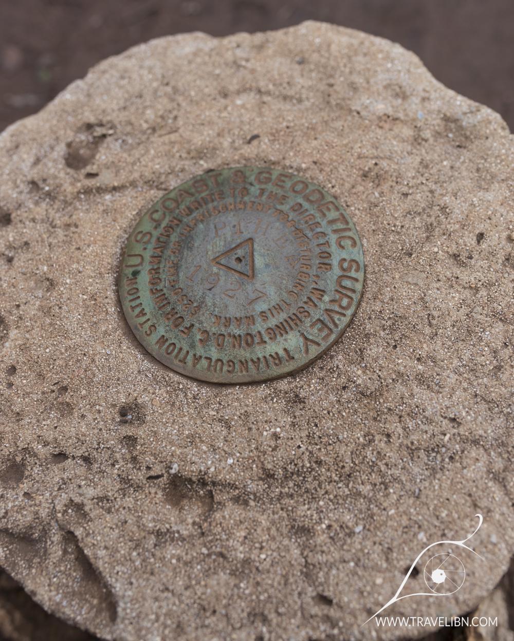 1927 US Coast &Geodetic Survey Benchmark