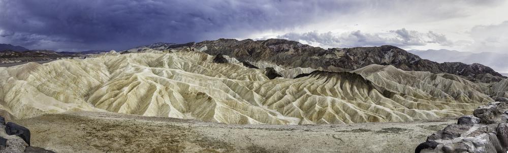 Dante's view at Zabriskie Point, Death Valley, CA