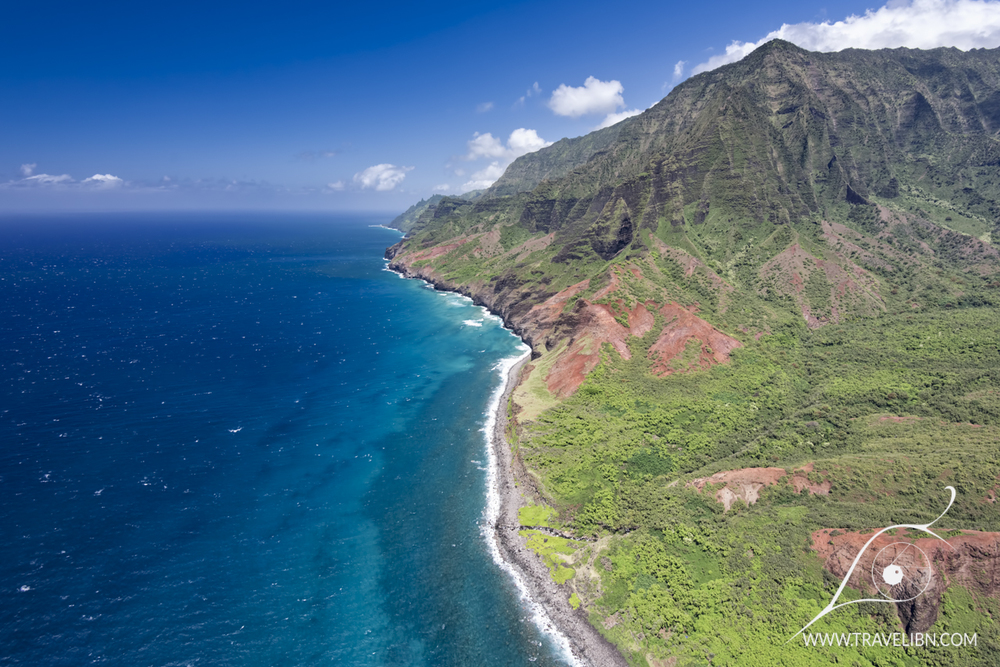 Kalalau Valley from above