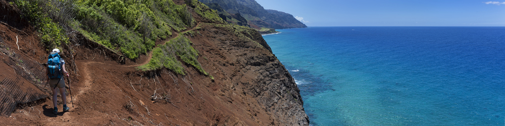 Hiking the Kalalau Trail