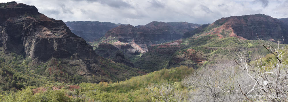 Waimea Canyon as seen from Kukui Trail