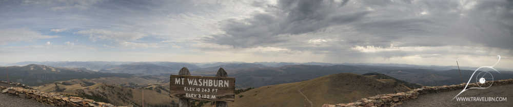 Mt. Washburn Peak