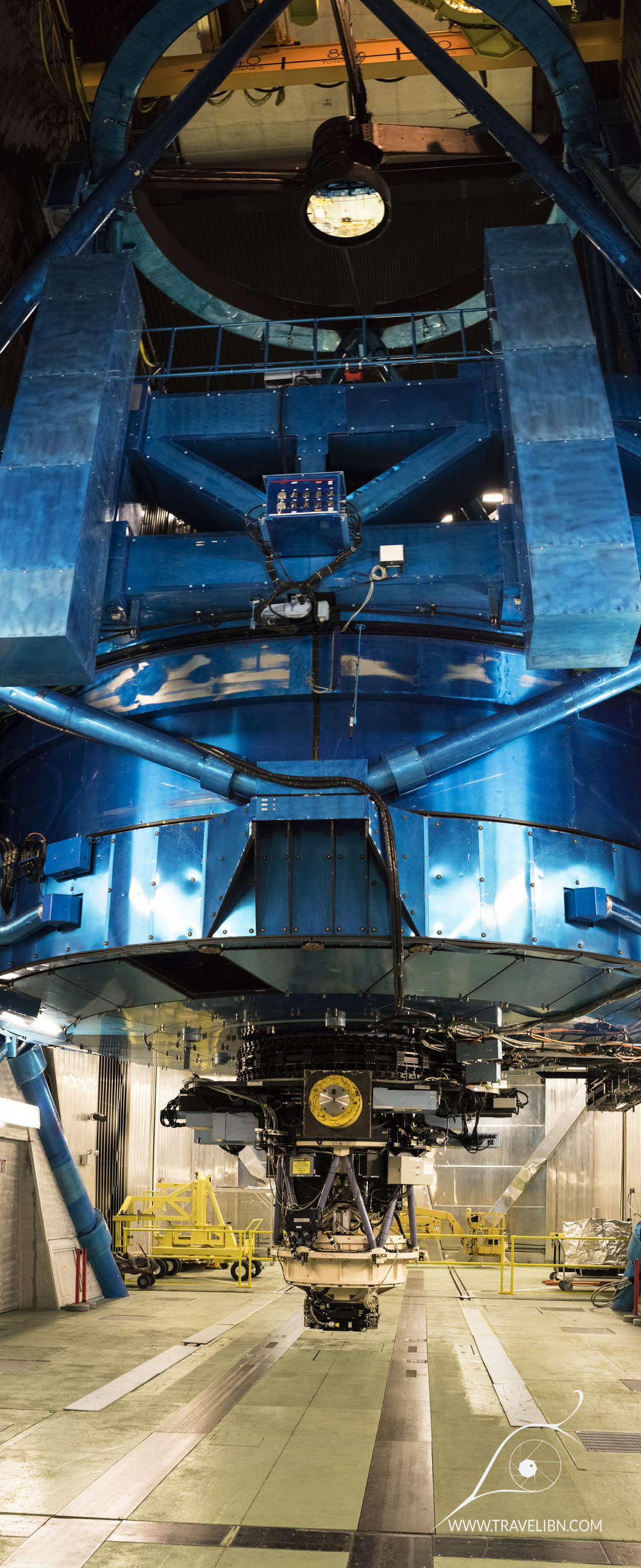 Subaru telescope structure
