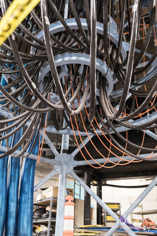 Cables Subaru Telescope