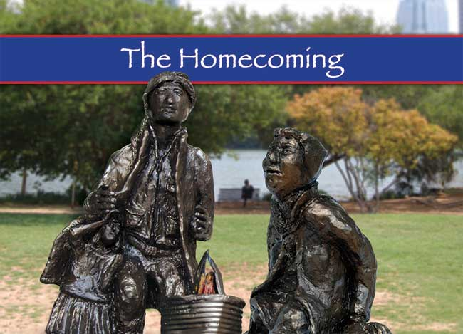 Homecoming Statue