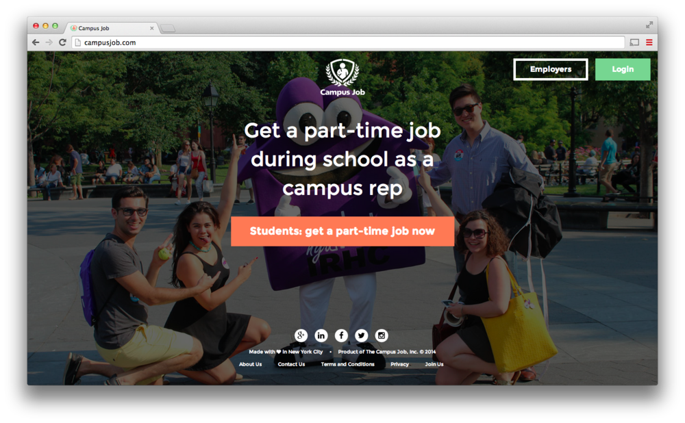 CampusJobs-screenshot