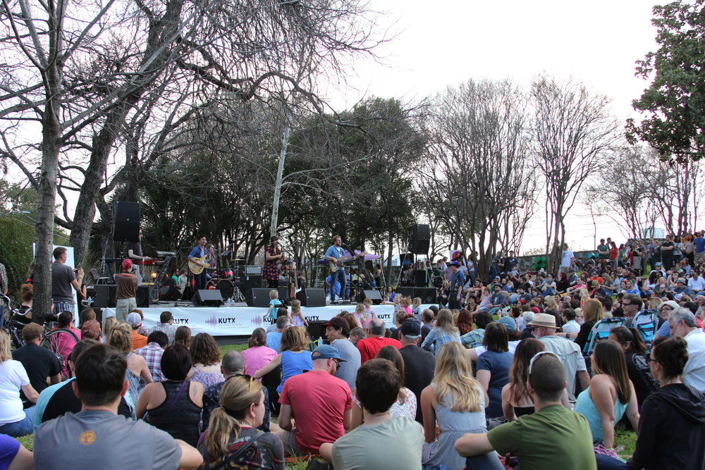 The French Legation Museum was packed for Ruby Jane and Walker Lukens' sets.    Photp by Tess Cagle