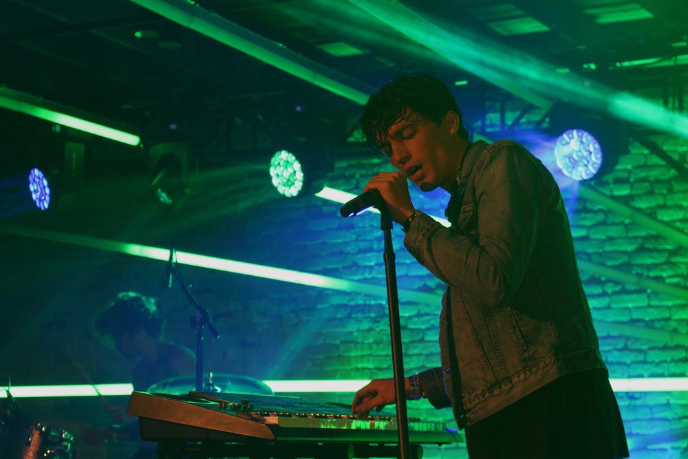 Los Angeles, CA band LANY performs at a Yahoo! at SXSW showcase atBrazos Hall. Photo by Samantha J. Grasso.