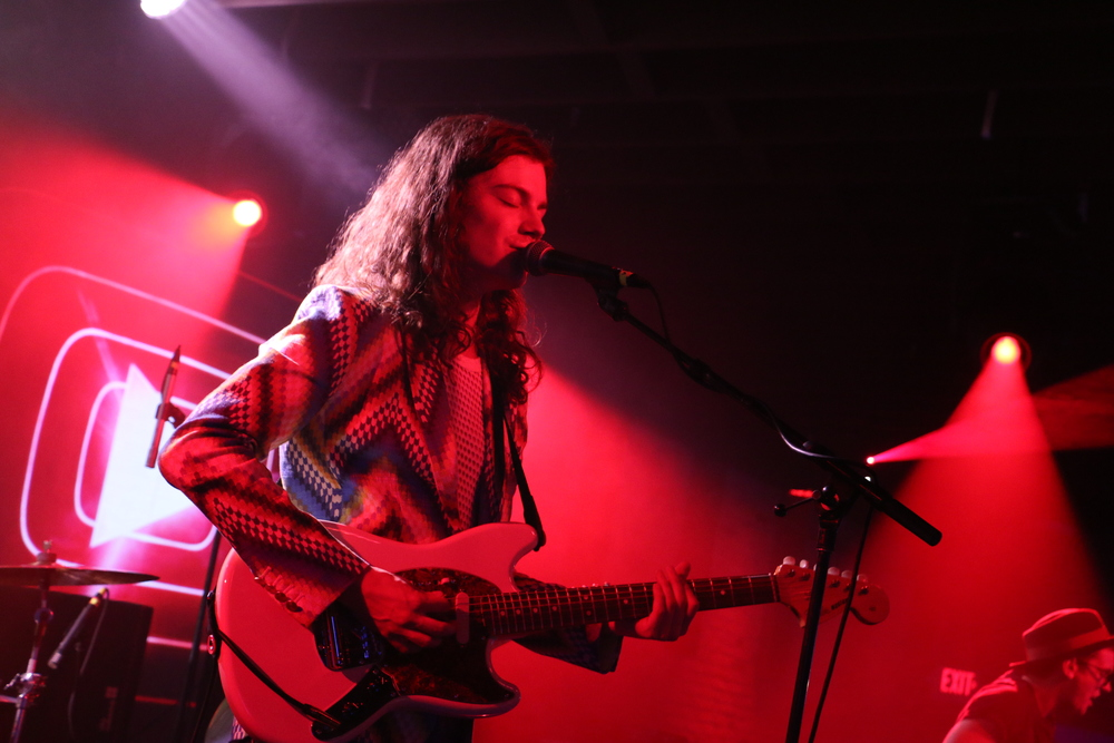 BØRNS performs at YouTube's Coppertank showcase during SXSW 2015. Photo by Joshua Guerra.