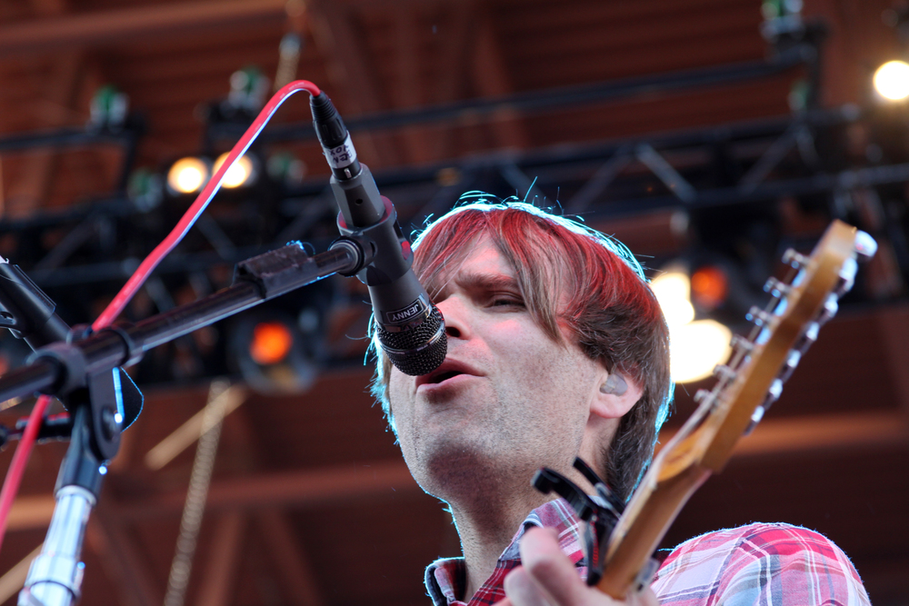 Ben Gibbard of Death Cab for Cutie.  Photo by Tess Cagle