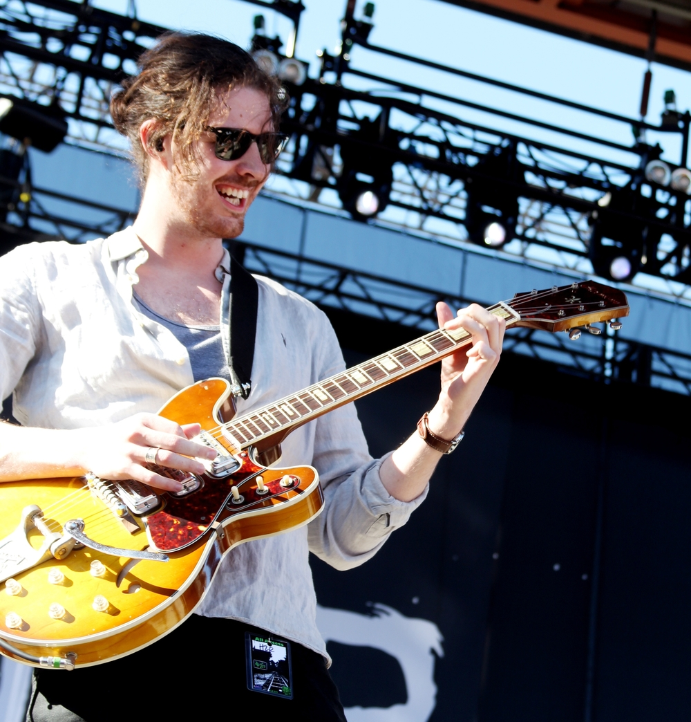 Hozier.  Photo by Tess Cagle