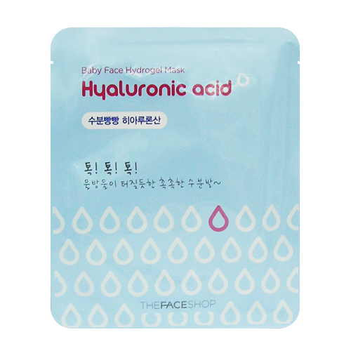 2.1 Baby Face Hydrogel Hyaluronic Acid Mask - The Face Shop.JPG
