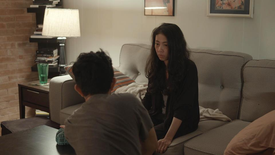 "Stills from the short film ""Motherland,"" directed by and starring Dew Napattaloong."