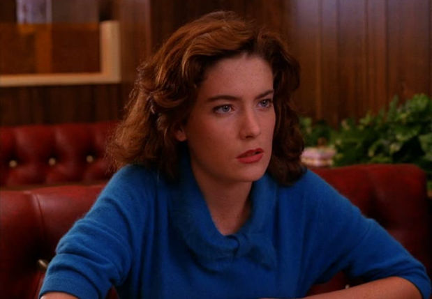 """DONNA HAYWORD    Despite Donna's suspicious involvement in her best friend's death and the fact that she's dating that best friend's boyfriend, Donna's actions in """"  Twin Peaks  """" prove to be motivated by underlying compassion rather than by malicious intent. Donna's wardrobe represents her transition from a naive young girl to a serious, worldly woman. Let your supportive personality glow in a sweater from   Topshop   ."""