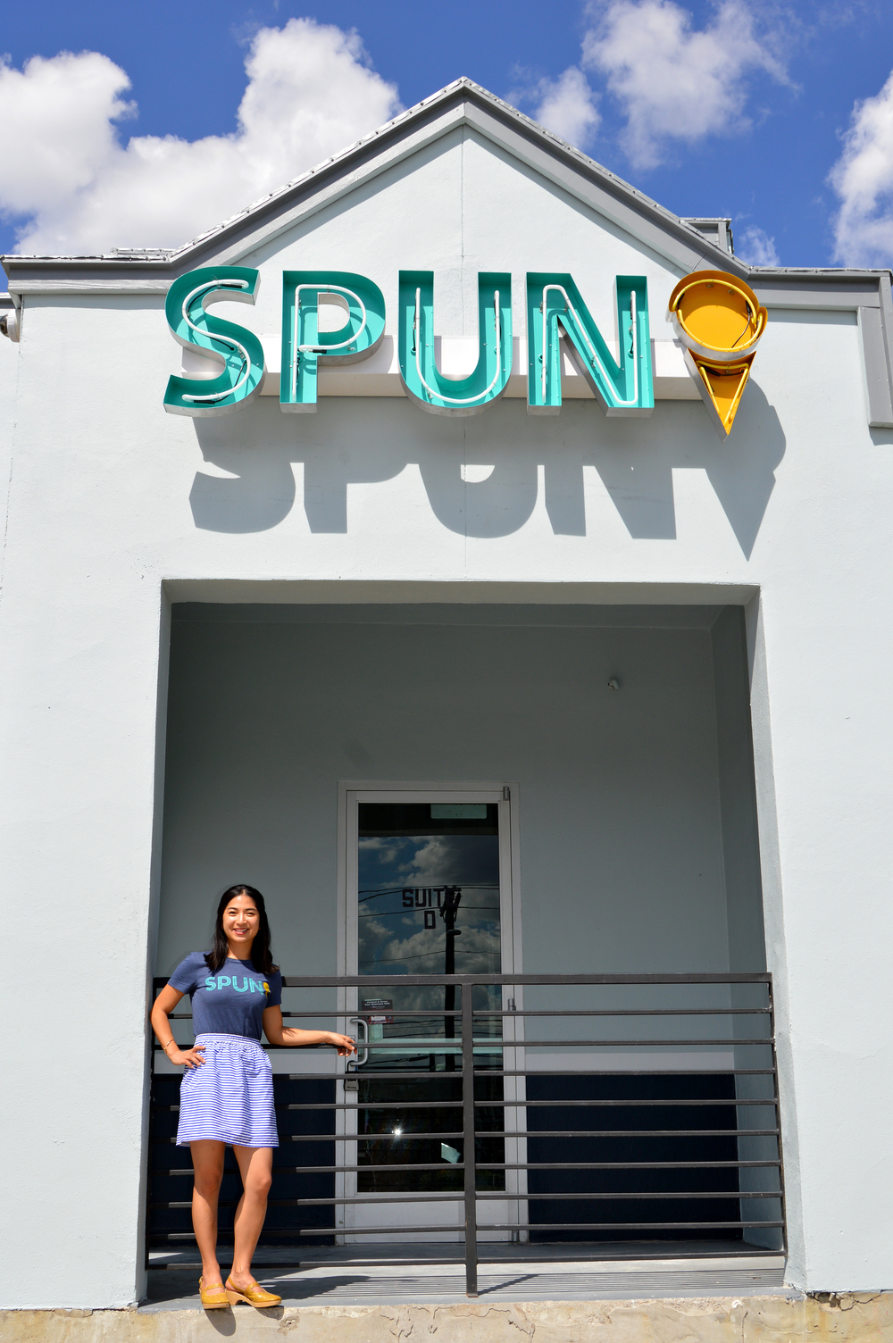 Ashley Cheng, co-owner of SPUN