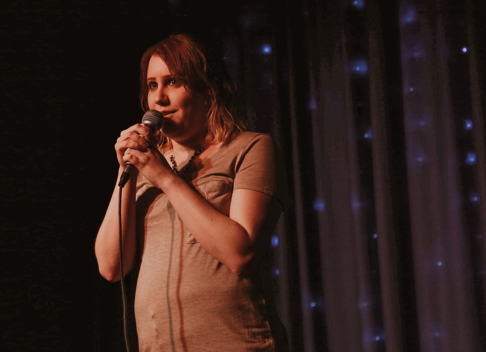 Comedian Amber Bixby