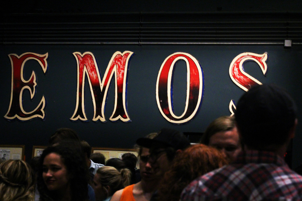 """Many people gathered at Emo's to celebrate the Austin Music Foundation's """"Feel the Love"""" Music Industry Expo."""