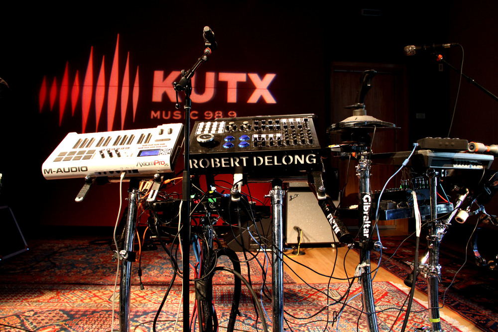 Musician Robert DeLong swings by Studio 1A at KUTX for an intimate, live performance.
