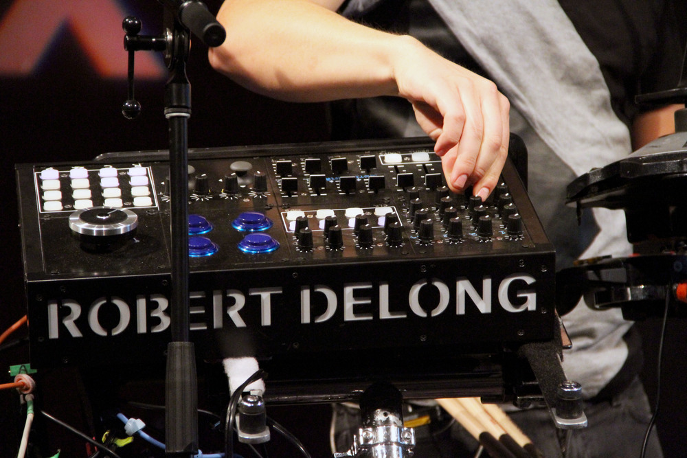 DeLong has played in Austin's South by South West since 2012.