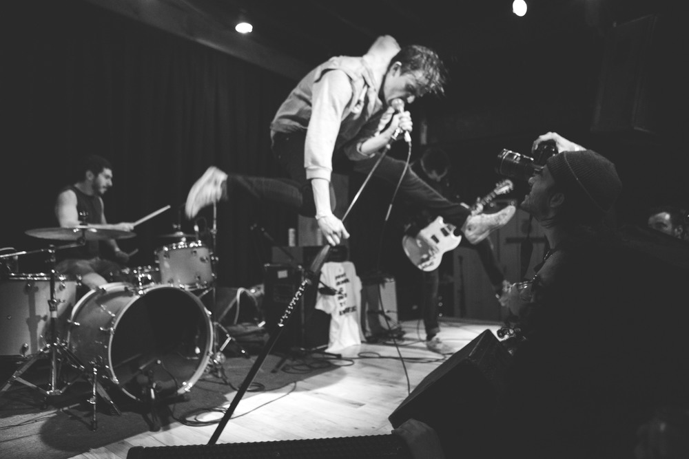 Punk band Juiceboxxx performs at Barracuda on March 18.