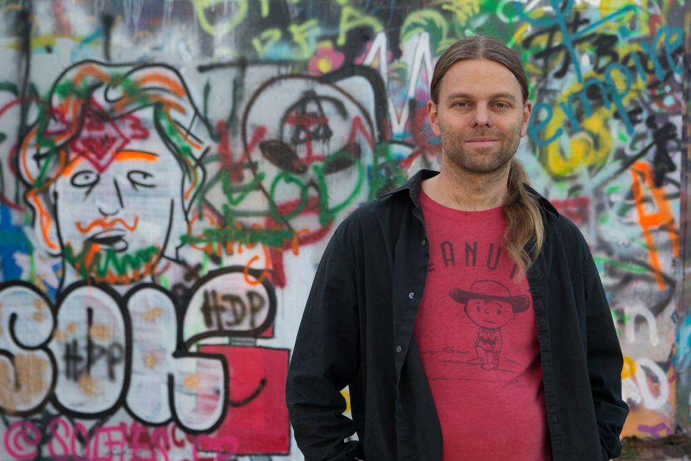 Rocksalt Magazine editor and publisher Geoff Sebesta.