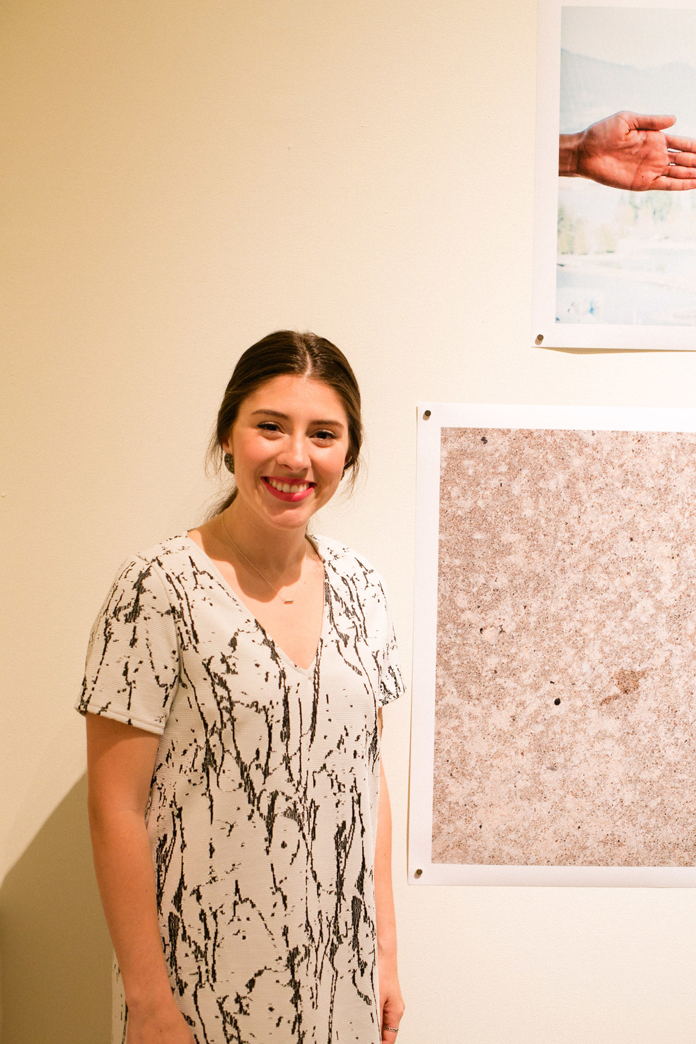 Bianca Buentello, Studio Art Major wth focus in photography and video    Her works are inspired by the idea of thresholds and boundaries, the appropriation of images and remnants left through loss.