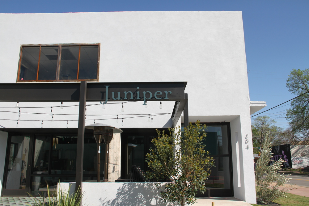 Located on East Cesar Chavez, Juniper's atmosphere is bright and intoxicating for a go-to weekend brunch.
