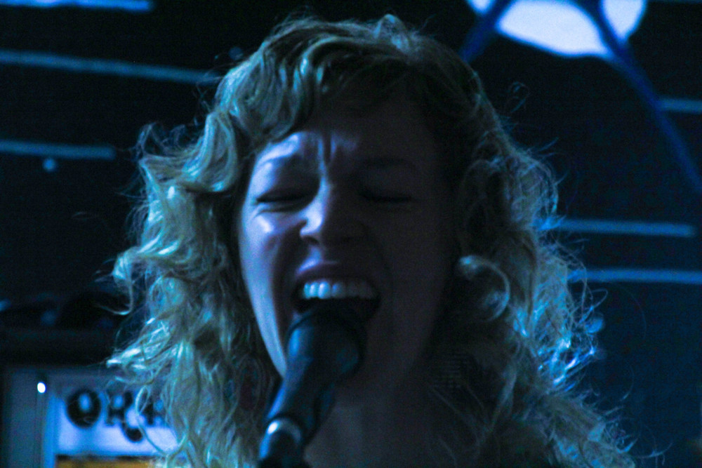 Singer and bassist Morgan Maud.