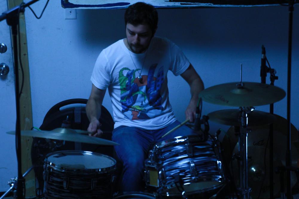 Drummer Andy Palmer.