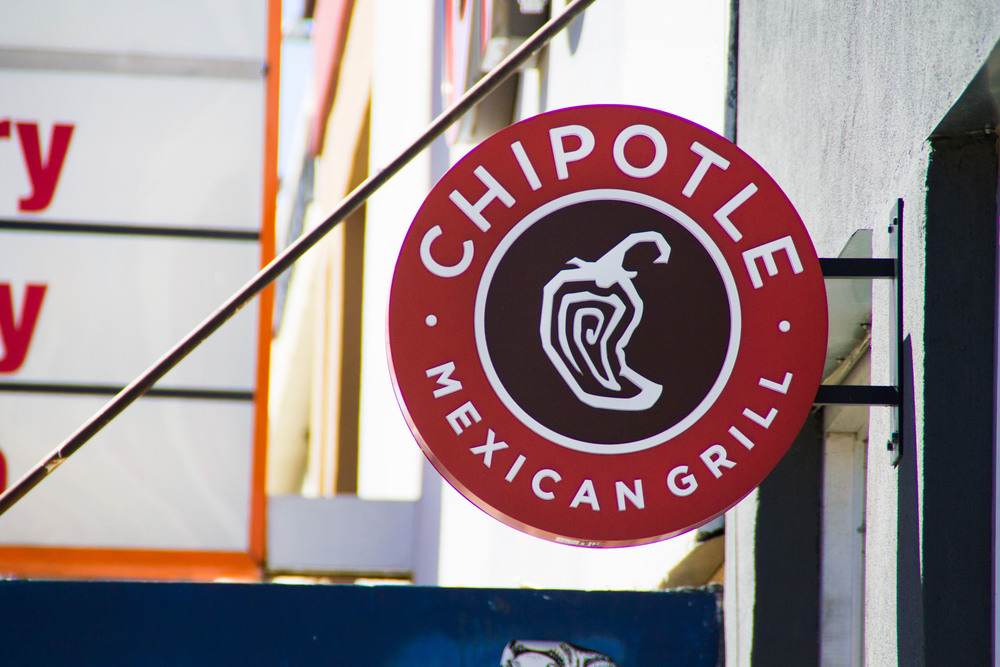 Chipotle is a favorite among students; it's almost always full of customers.