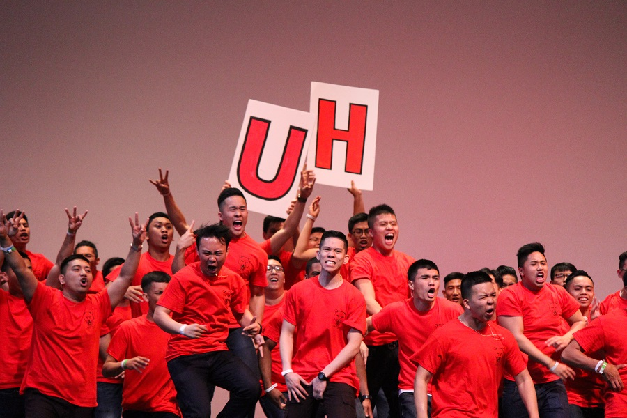 The University of Houston's guy-driven Spirit performance earned them second place in the Spirit portion of the dance contests.