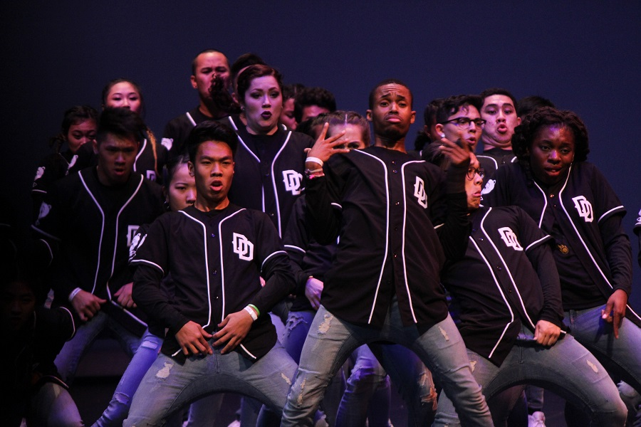 UT Dallas got second place for their modern performance, beating out UH who got third.