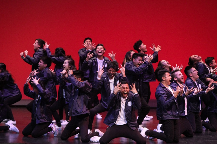 UT took home the gold for their modern performance.