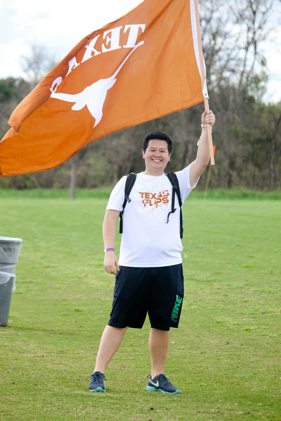 Tim Ngo was the main hypeman cheering for UT at every Goodphil event.