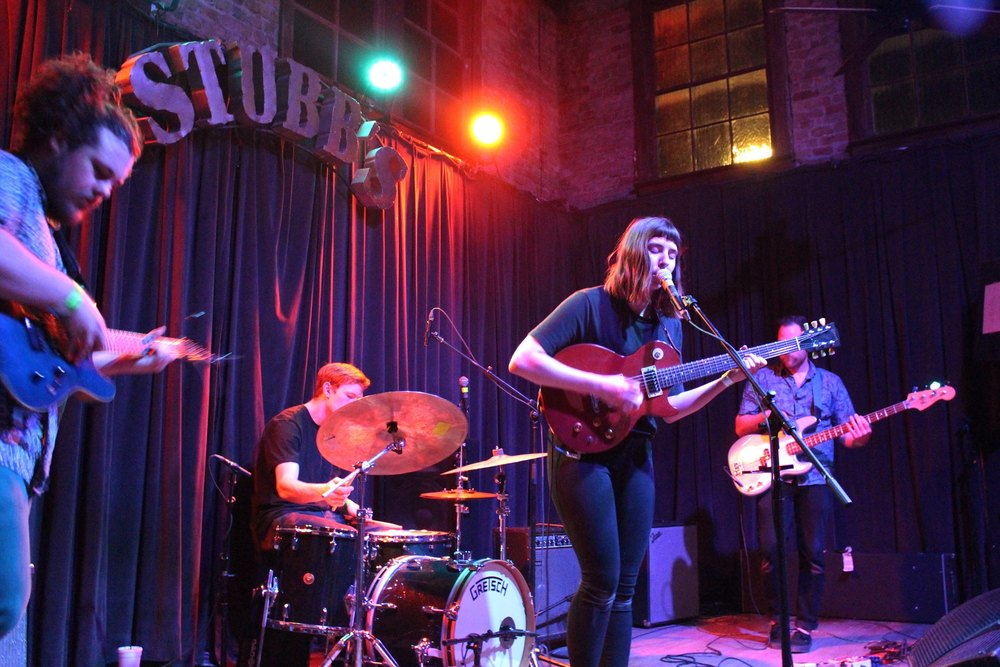 Mothers frontwoman Kristine Leschper sings her powerful folky tunes.