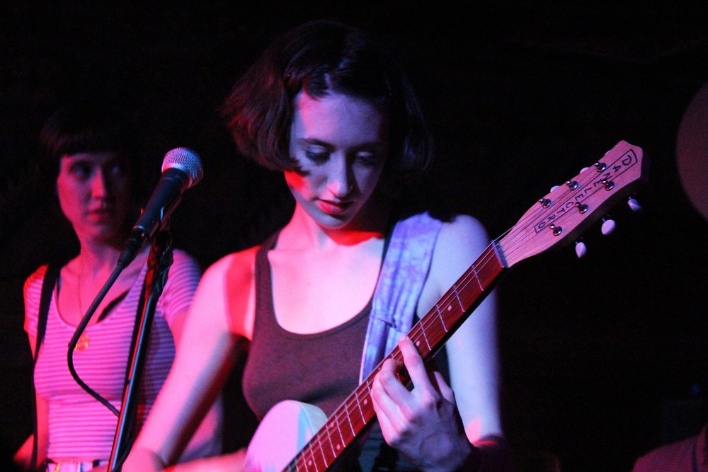 Greta Kline's band Frankie Cosmos performs at the Sidewinder on April 10.