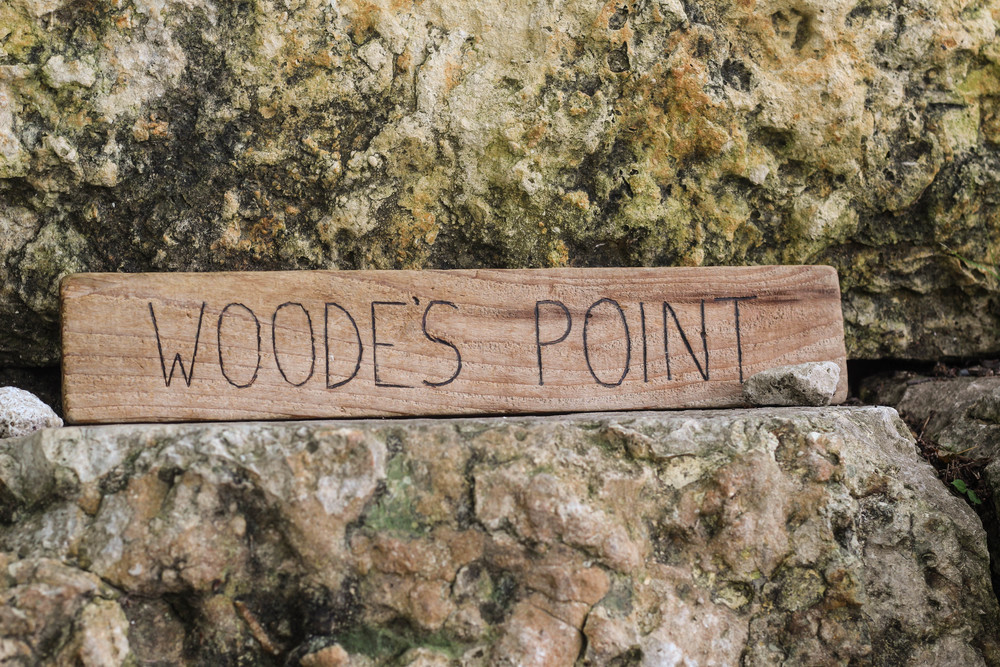 Although many officials refer to this spot as Lou Neff Point, Mr. Wood adopted the name Woode's Point.