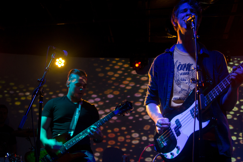 Boys Club featuring ORANGE magazine's very own music editor Bryan Rolli on guitar. Photo by Kristin Evans.