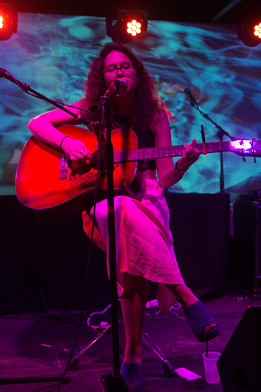Sofia Sanchez, a veteran of 5-1-Tunes, performing. Photo by Kristin Evans.