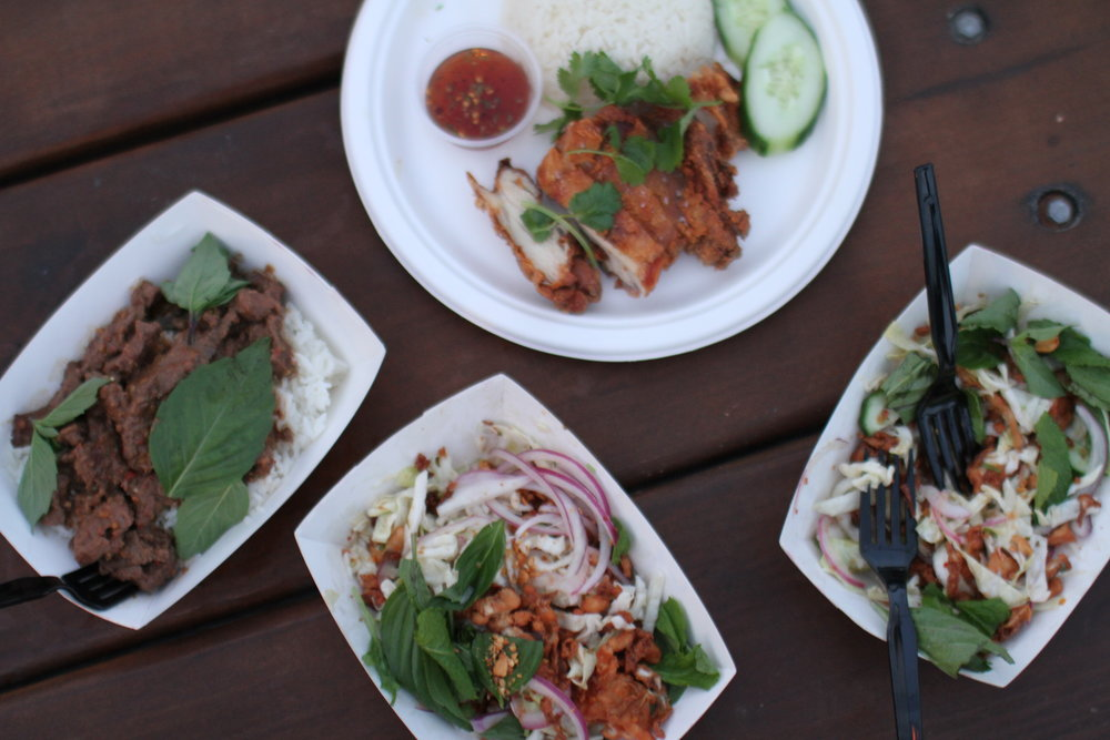 ThaiKun, a branch off of East Side King, has three locations in Austin at Whisler's, Steampunk Saloon and The Domain.